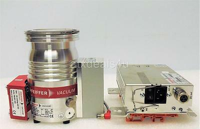 Pfeiffer HiPace 80 Turbo Molecular Pump PM P03 940 A with TC110 and TPS110