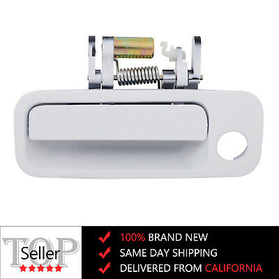 For 97-01 Toyota Camry Door Handle White Outside Exterior Front Left Driver Side