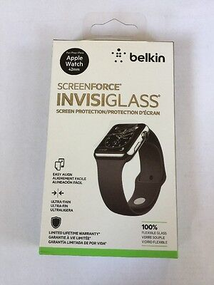 New Belkin SCREENFORCE Screen Protector for Apple Watch 42mm