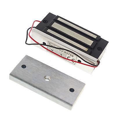 12VDC Electromagnetic Lock Magnetic Lock 100 lbs Force x 1