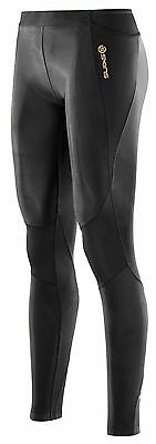 Authentic Skins A400 Womens Compression Long Tights | Black