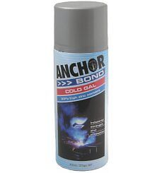 Cold Galvanising Spray Paint Anchor Brand 400ml Can Marine Automotive Industrial
