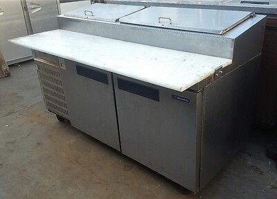 PIZZA PREP TABLE Refrigerator 6ft