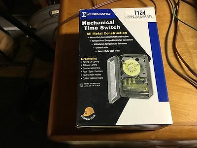 Intermatic T104 mechanical time switch timer 220 volt new in the box