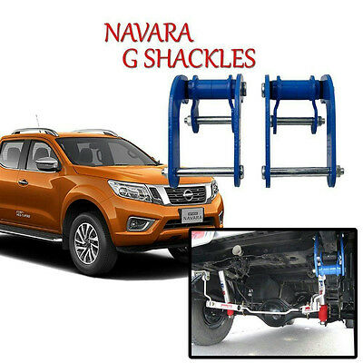 Shackles Rear Comfort Shackle Fits Frontier Nissan Navara Np300 Truck D23 15 up