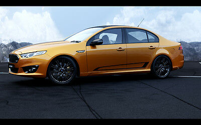 """2016 FORD FALCON XR6 TURBO SPRINT NEW A4 POSTER GLOSS PRINT LAMINATED 11.7/""""x8.3/"""""""