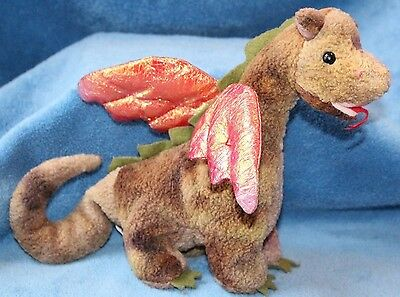 Ty Beanie Babies Scorch Dragon No Tag