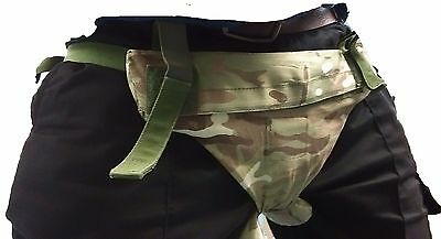 BRITISH ARMY PELVIC PROTECTION, multicam combat codpiece ballistic MTP TIER 2