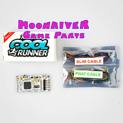 Brand New Coolrunner Rev C for Jasper Trinity Corona Phat & Slim Cable Included