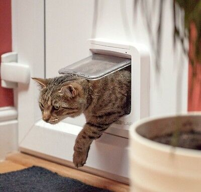 SureFlap Microchip Cat Flap Compatible With All Microchips 3 Year Warranty