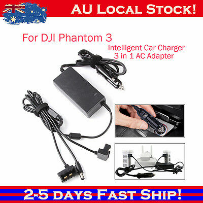 Car Charger For DJI Phantom 3 Professional/Advanced/Standard Battery& Remote b2n