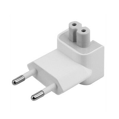 US to EU Plug Travel Charger Converter Adapter for Apple MacBook Pro / Air