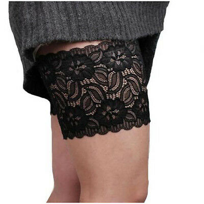 I435 Women Summer Elastic Socks Anti-Chafing Thigh Bands Prevent Thigh Chafing S