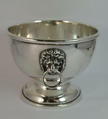 Beautiful Sterling Silver Two Lion Handled Bowl with Pot Pourri Lid Top