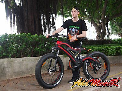 Addmotor MOTAN New Electric Bicycle 26'' 4 Inch Fat Tire 500W 48V Motor For Snow