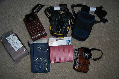 Mixed Lot Of  7 Cell Phone, Camera, Other Cases - All New
