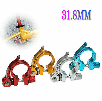 Cycle Bicycle Mountain Bike Road Cycling 31.8mm BUAU Seat Post Clamp Alloy
