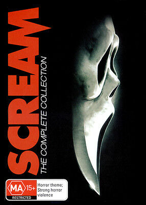 SCREAM The Complete Collection 1 2 3 4 BRAND NEW SEALED R4 DVD
