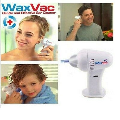 Electric Ear Cleaning Device Vacuum Removal Kit Massage Cleaner Dig Child Ears