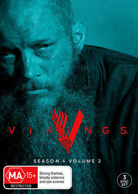 Vikings Season 4 Volume part 2 BRAND NEW SEALED R4 DVD