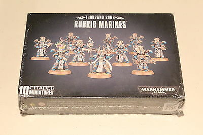 Warhammer Chaos Space Marines Thousand Sons Rubric Marines New in Box