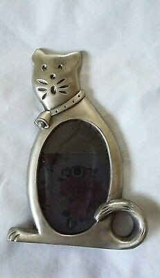 Pewter Cat Frame