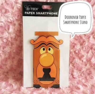Disney Japan Kawaii Alice In Wonderland Doorknob Paper Smartphone Stand