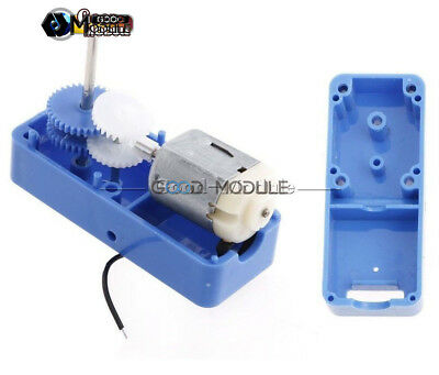 DC1.5-6V 1: 94 Mini Output Biaxial Reduction Box Gear Motor For Robot Toys DIY