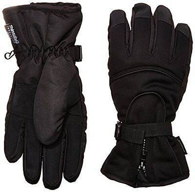 Highlander Banff Waterproof Gloves - Black, Medium