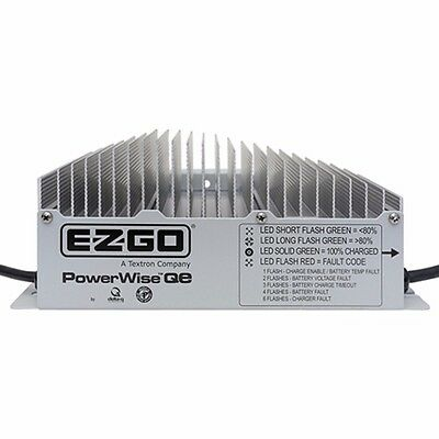 Ezgo Golf Cart Battery Charger 48V Powerwise QE Fits Rxv TxT 1 Year Warranty