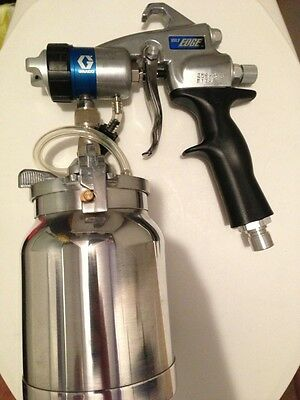 Graco HVLP EDGE Gun # 256855 W/#3 Needle Comes with Free Artisan valve