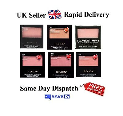 !!RRP£7.99!! Revlon Matte Powder Blush Sealed - Choose your shade - 9 Shades