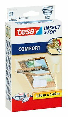 tesa 55881 Insect Stop, Mosquito, Fly And Insect Screen For Velux Roof Windows 1