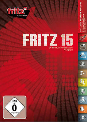 Fritz 15 Chess Playing Software Program Chess Software