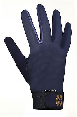 MacWet Climatec Gloves - Long Cuff - Brown or Navy - 6.5
