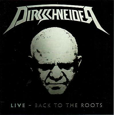 Dirkschneider - Live - Back To The Roots - 2 Cd New !! Double Cd 2016!!! Accept
