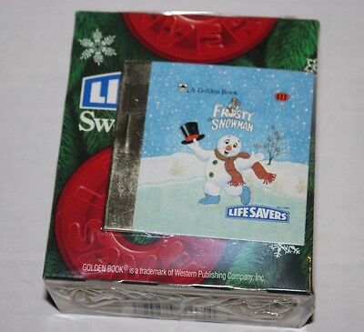 LifeSavers Sweet Storybook With Frosty The Snowman Golden Book NEW Vintage