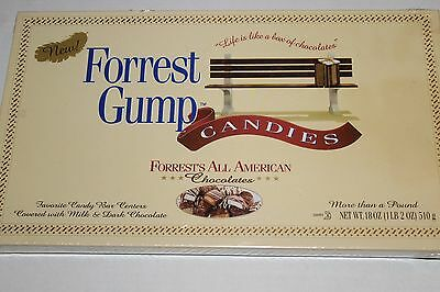 Forrest Gump Box of Chocolates Candies All American 1995 Vintage Candy NEW