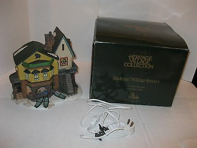 "DEPARTMENT 56 HERITAGE  DICKENS VILLAGE SERIES ""The Grapes Inn"" #57534 Christmas"