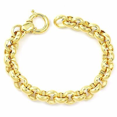14k yellow gold hoop bracelet (new, 24.84gr)3708