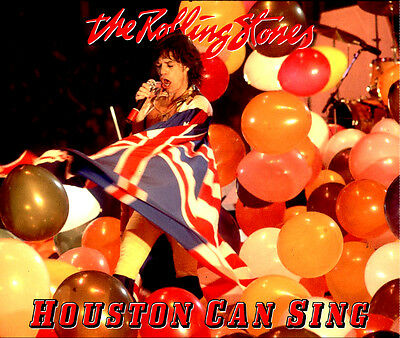 The Rolling Stones - Houston Can Sing 2CD - HOUSTON 1981 LIVE SOUNDBOARD Limited