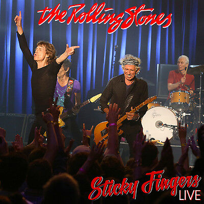 The Rolling Stones - Sticky Fingers Live CD - LOS ANGELES 2015 - Limited Edition