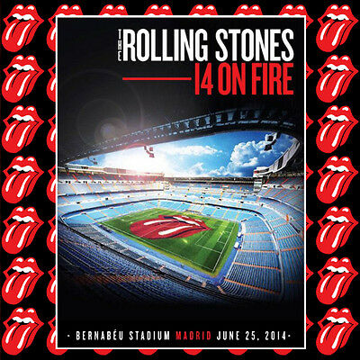 The Rolling Stones - MADRID 2014 LIVE 2CD - Limited & Numbered LAST ITEM