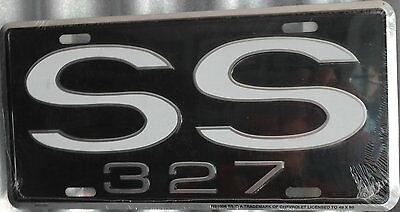 """License Plate """"SS 327"""""""