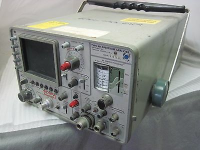 Tektronix 491 Spectrum Analyzer Used Untested From Navy Looks Clean  Loc. G-15