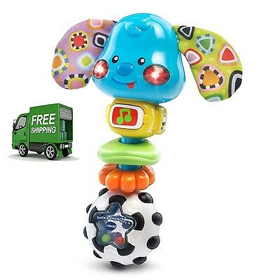 Baby Rattle And Sing Puppy Vtech Developmental Toy for infant activity new