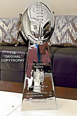Vince Lombardi Super Bowl Trophy. 51 Finals To Choose From.