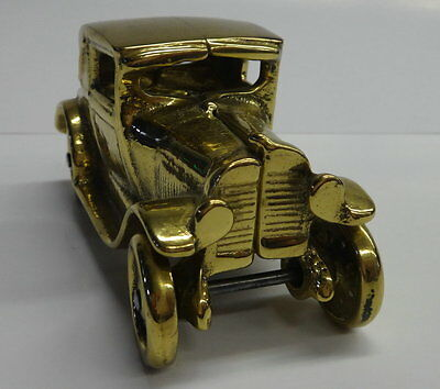 Ford Model A Coupe Cast in Solid Brass *Made in Canada*