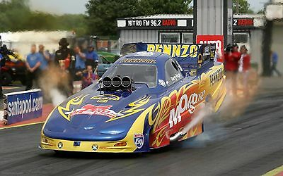 Santa Pod Poster 1 - Various Sizes - Price Includes Uk Post - Sports Car/Drag