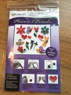 Quilling Kit Flowers & Friends